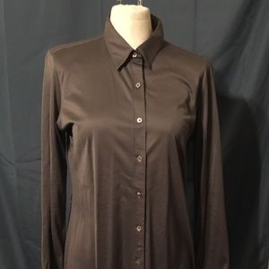Calvin Klein Grey Dress Shirt Knee-Length Sz.12